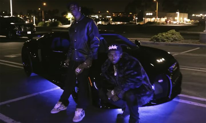 Travis Scott Pop Smoke Bugatti Chiron GATTI video