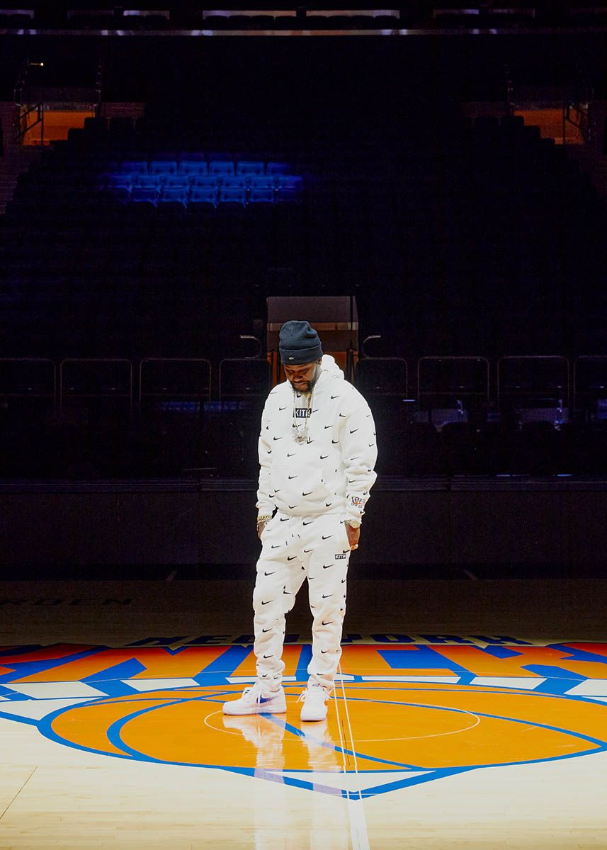 Kith's Knicks Air Force 1 Is the Only W the Team Will Have All Season 44