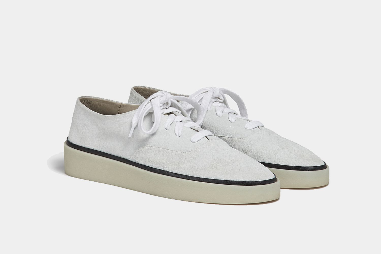 Fear of God Exclusively for Ermenegildo Zegna Suede Sneakers