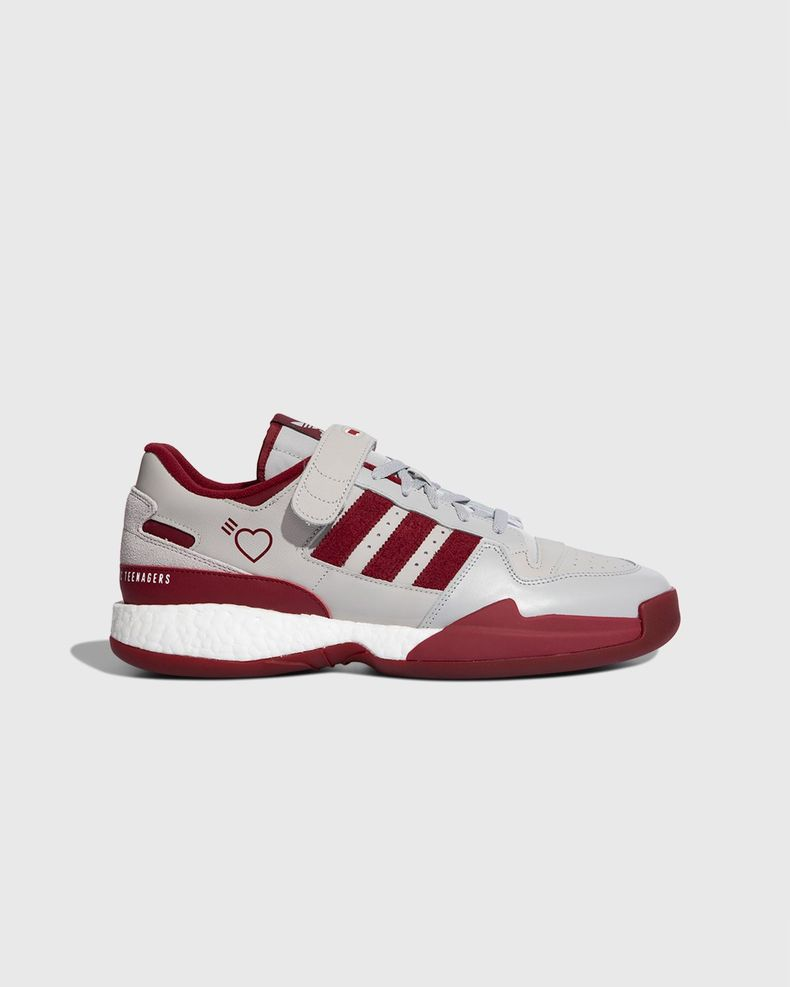 adidas Originals x Human Made — Forum Low Burgundy