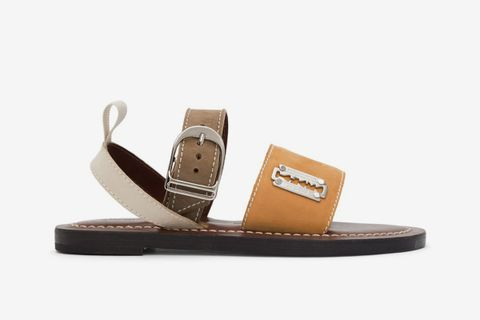 K. Jacques Edition Suede Sandals