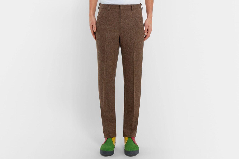 Donegal Wool-Tweed Trousers