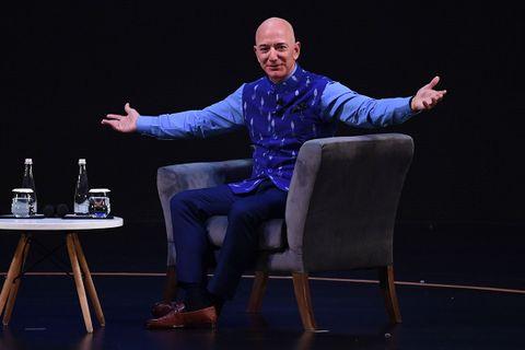 Jeff Bezos speaking