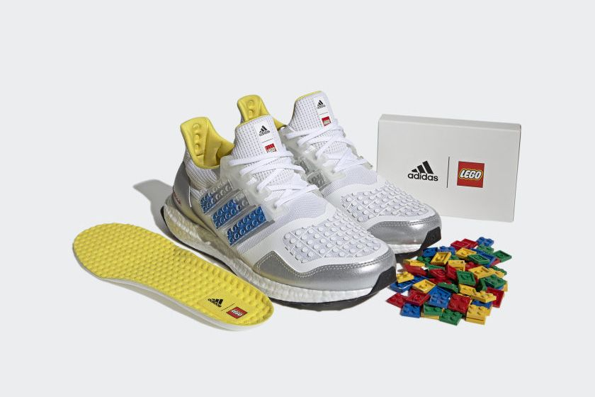 You Can Customize the LEGO x adidas Ultraboost Brick by Brick 3