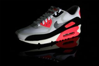 "best service 27473 355aa Nike Air Max 90 PREM Tape QS ""Infrared""   Highsnobiety"