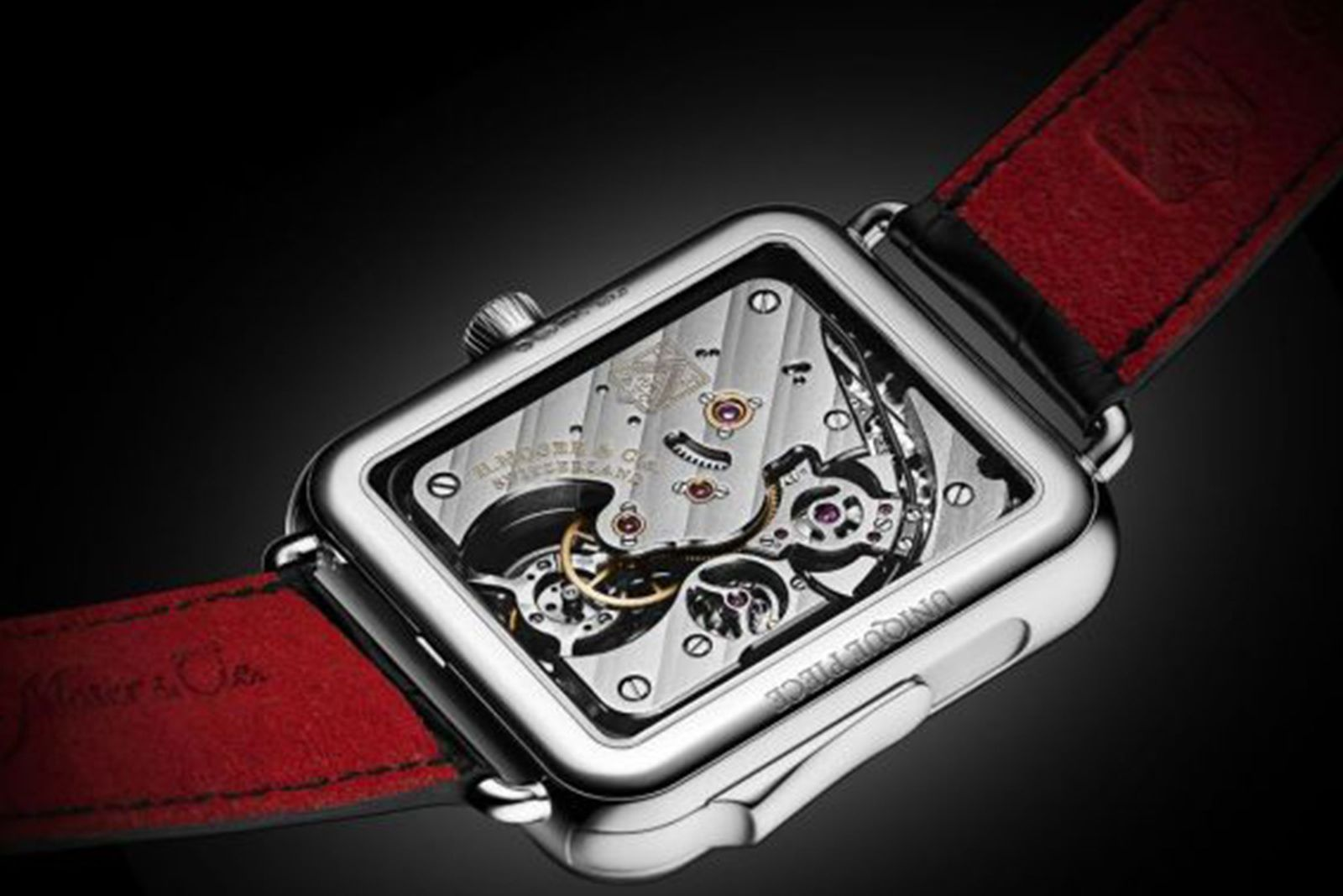 swiss alp watch minute repeater concept black H. Moser & Cie.