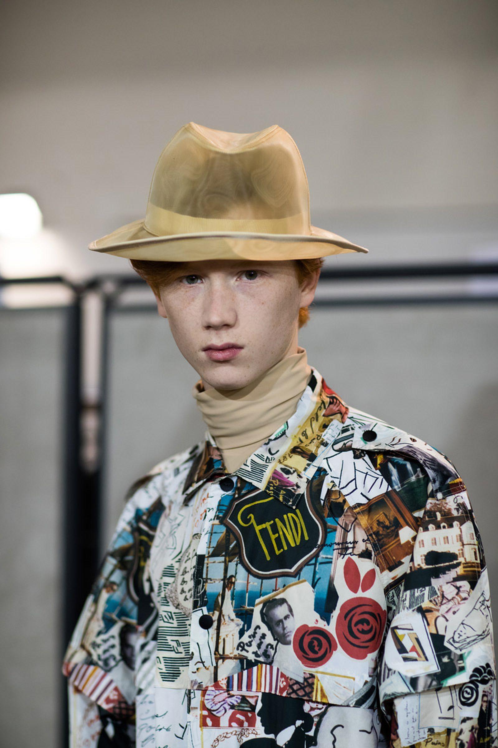 MFW19 Milan Fendi EvaAlDesnudo 07 milan fashion week runway