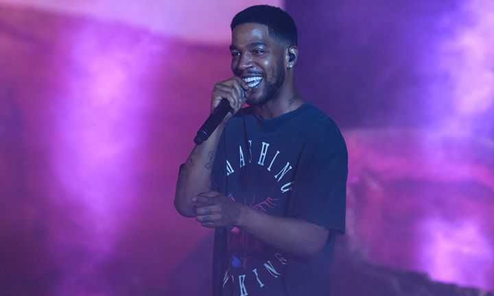 Kid Cudi performs during day three of Rolling Loud