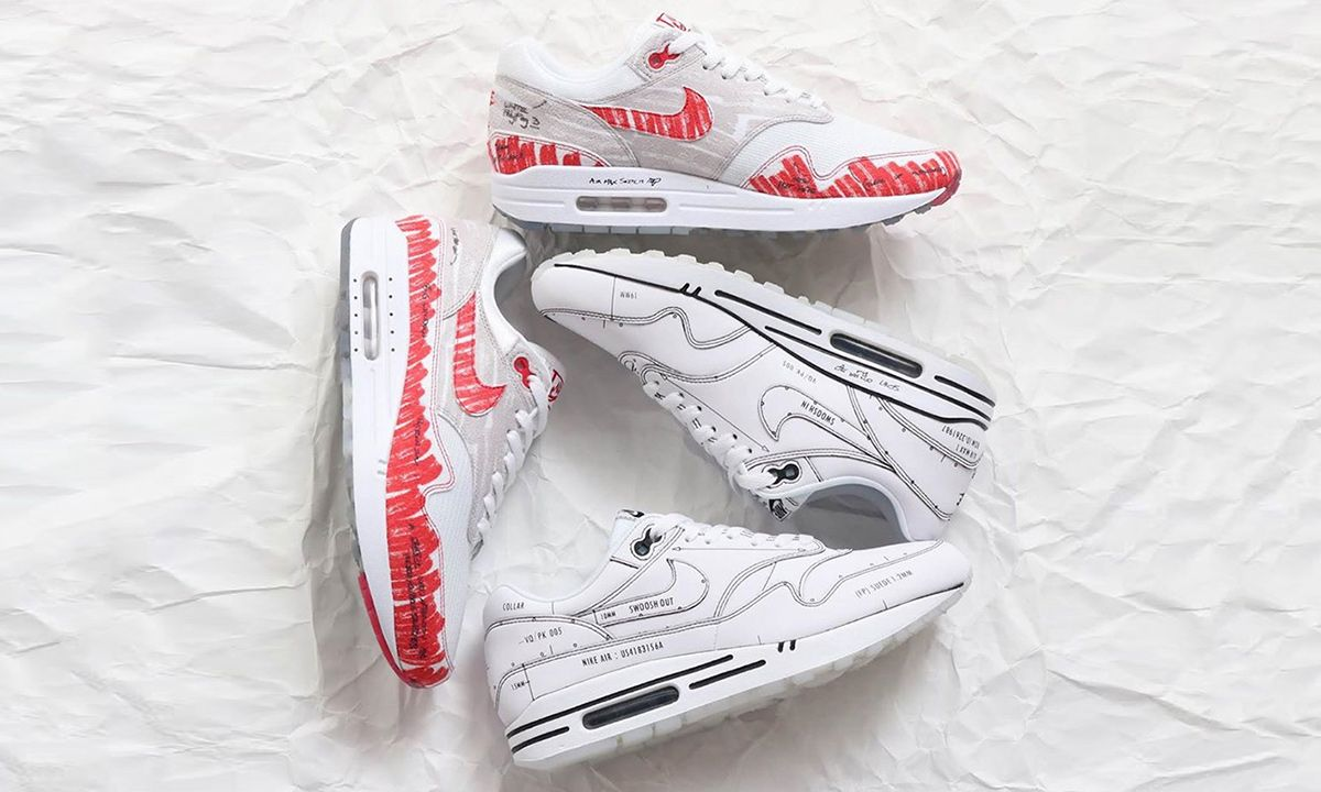 "Nike Air Max 1 ""Sketch to Shelf"" Pack: Where to Buy Tomorrow"