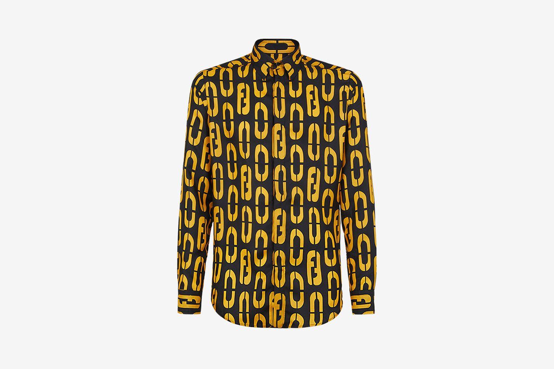 Multicolor Silk Shirt