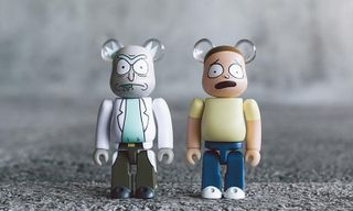 BAIT Teases 'Rick and Morty' Be@rbrick Collectable Figures