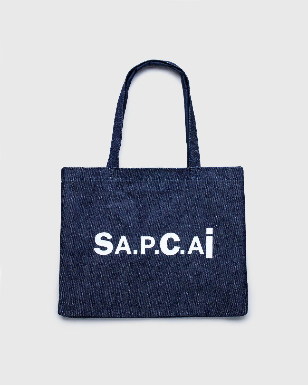 A.P.C. x Sacai — Shopping Bag Candy Dark Navy - Image 1