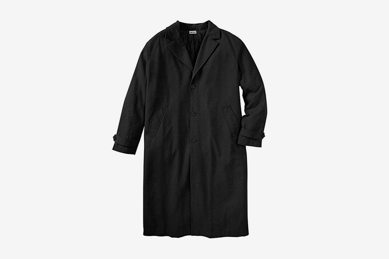 Wool-Blend Overcoat