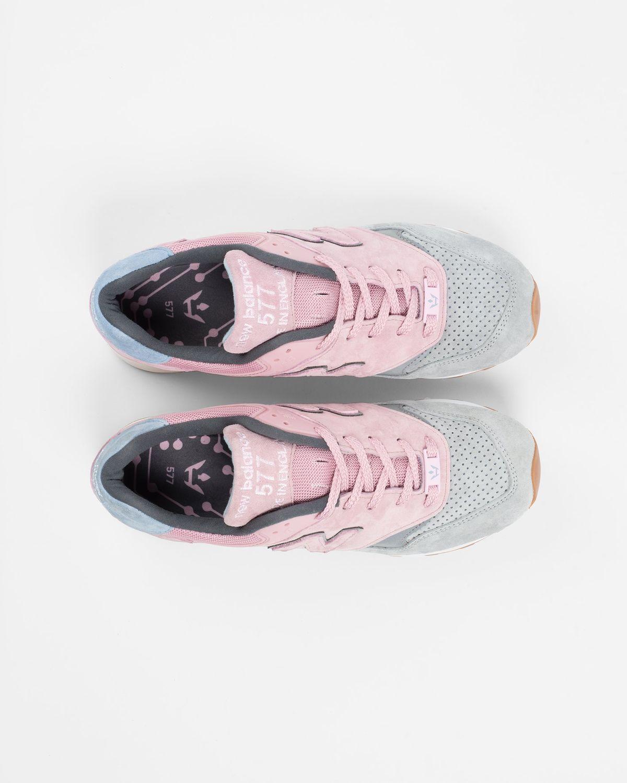 Highsnobiety x New Balance — 577 Pink/Grey - Image 5
