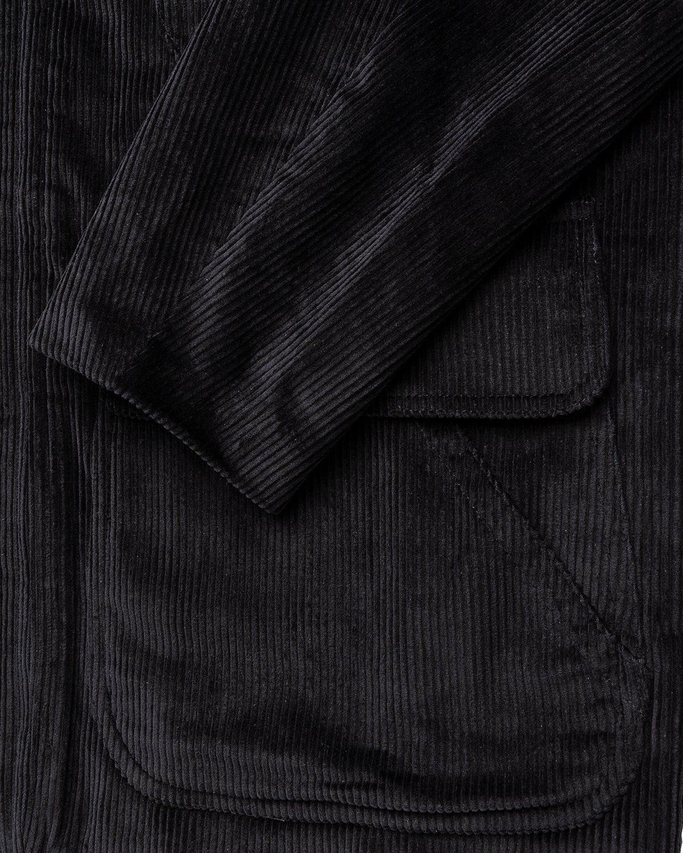 Winnie New York - Corduroy Hunting Jacket Black - Image 4