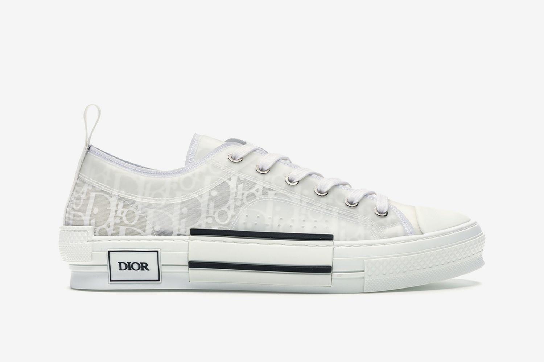 B23 Low-Top Oblique Sneakers