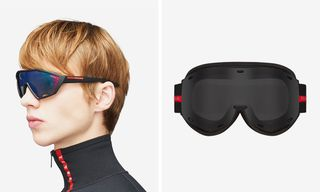 Prada's Linea Rossa Eyewear Collection Is Now Available Online