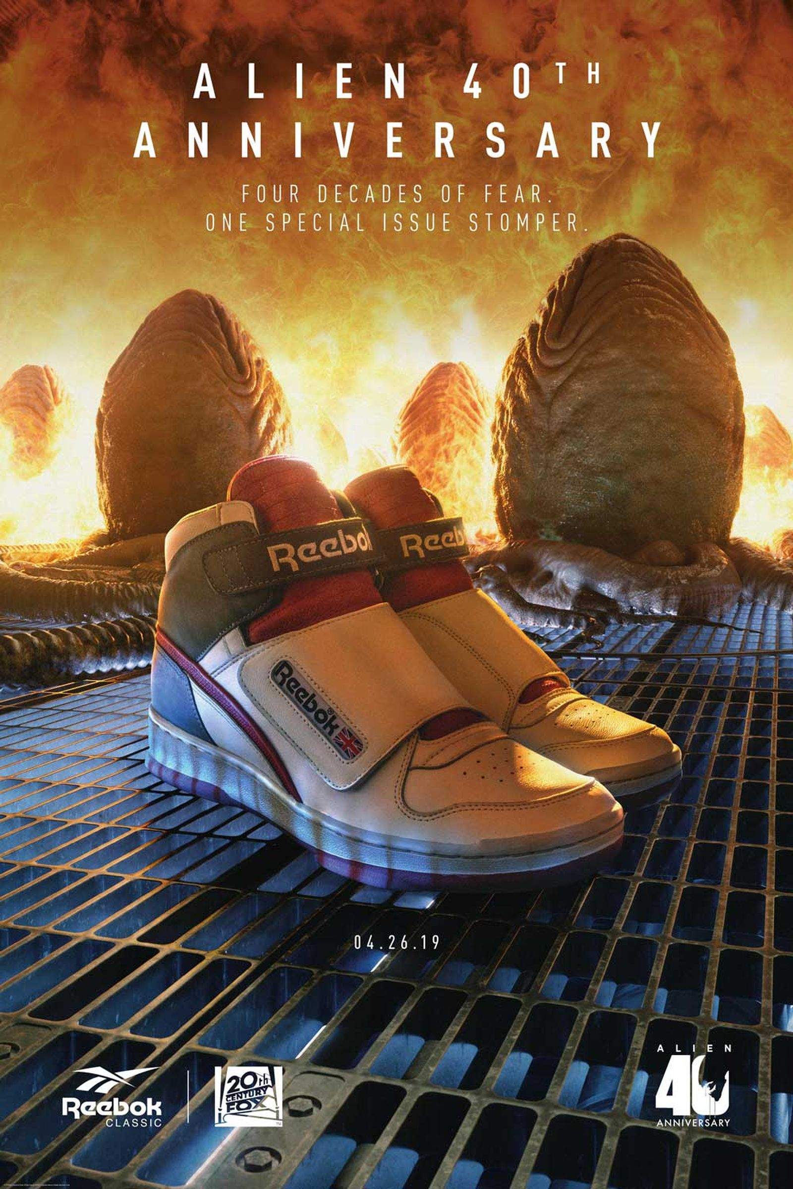 reebok alien stomper release date price