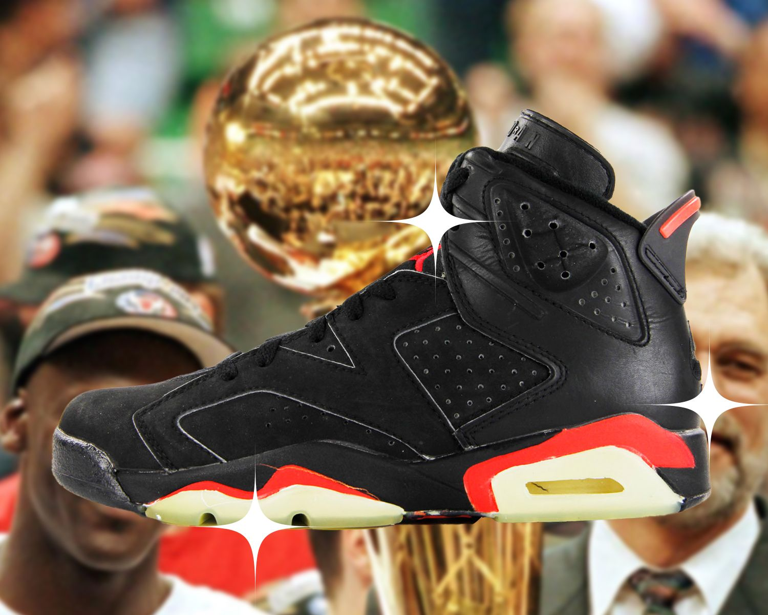 The 6 Sneakers Michael Jordan Wore When He Became a Champion 16