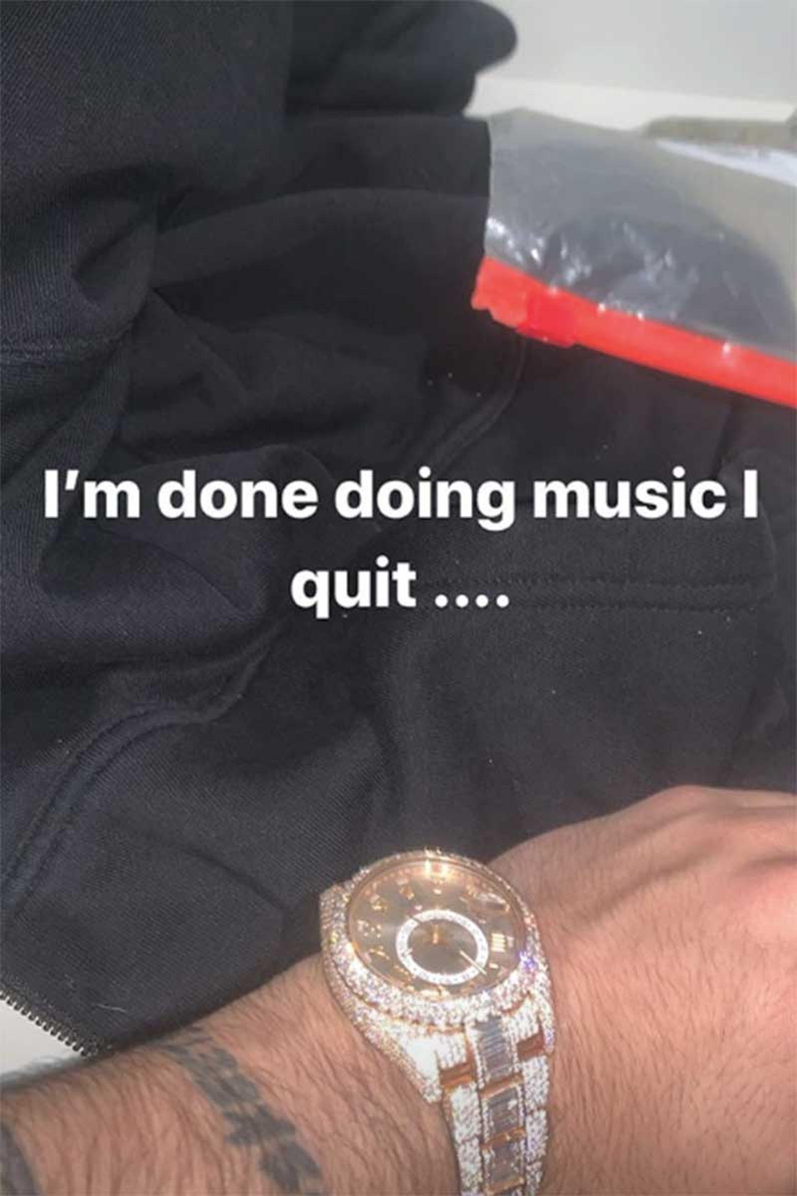 Lil Pump music retirement