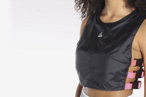 Reworked Adidas Crop