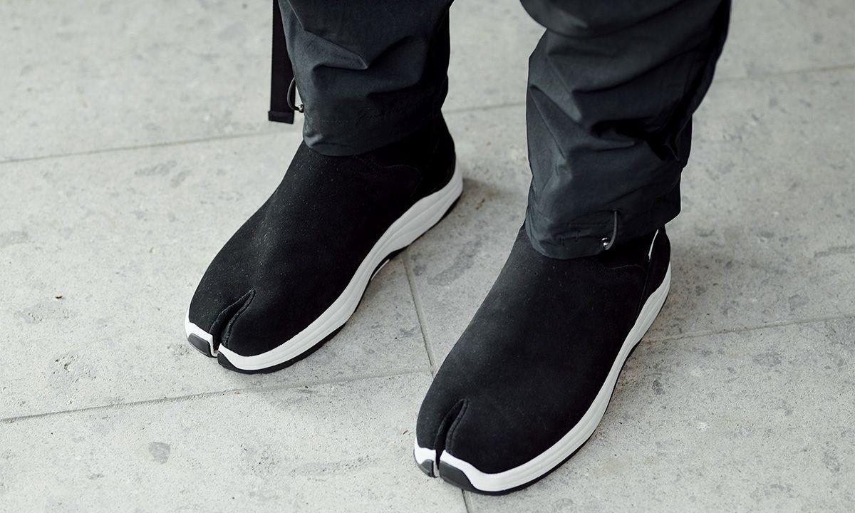 maharishi & Suicoke Unveil an Ultra-Functional Tabi-Toe Sandal