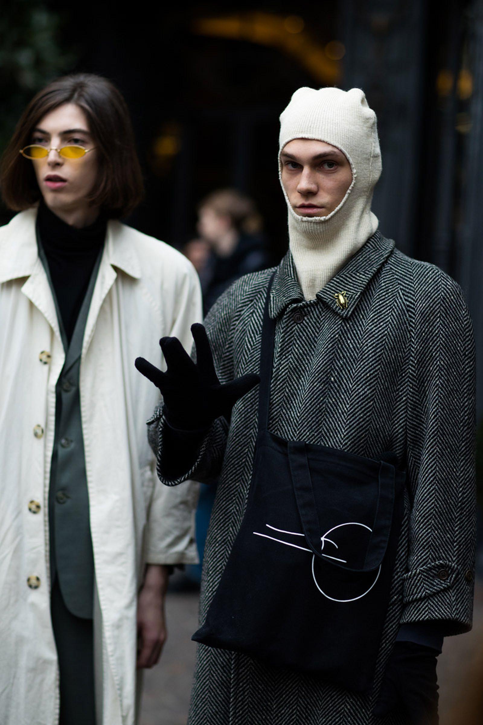8milan fashion week street style 032c HBA x Colmar Supreme