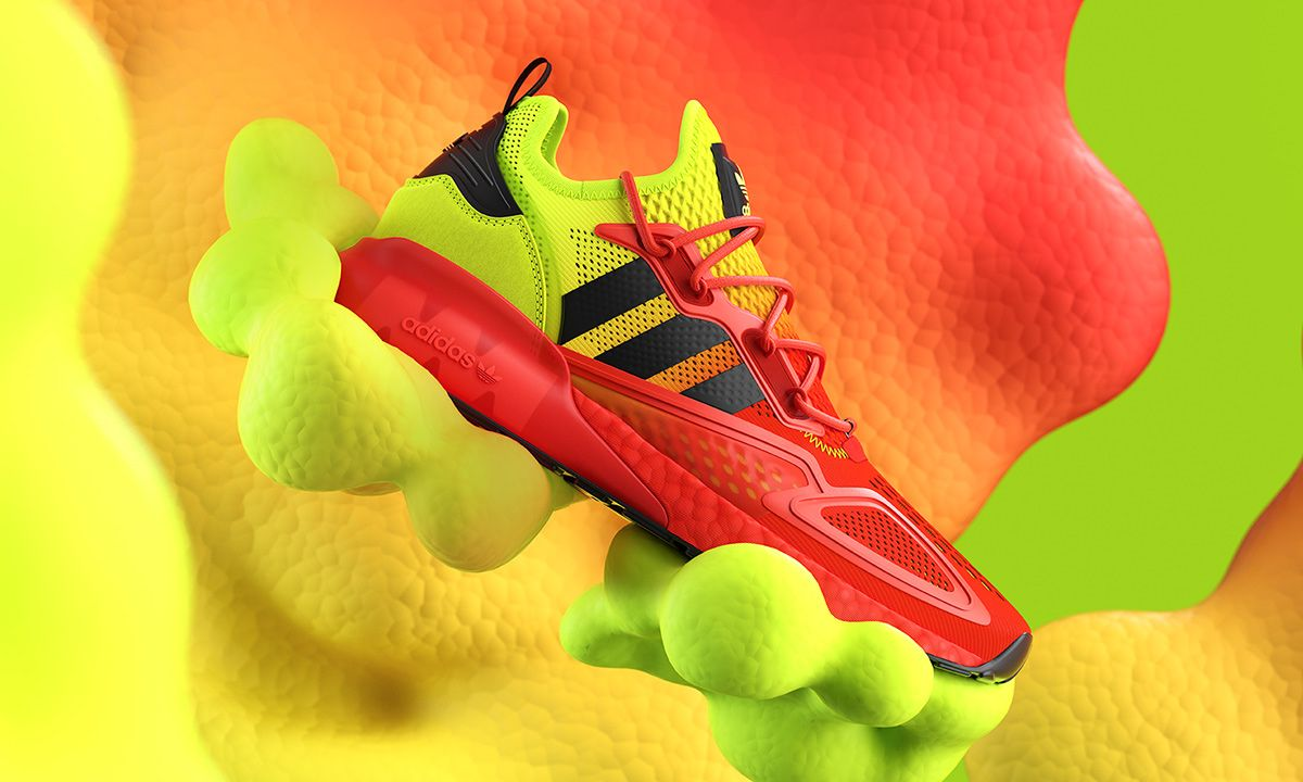 adidas Originals Drops an Eye-Popping Colorway of the ZX 2K Boost