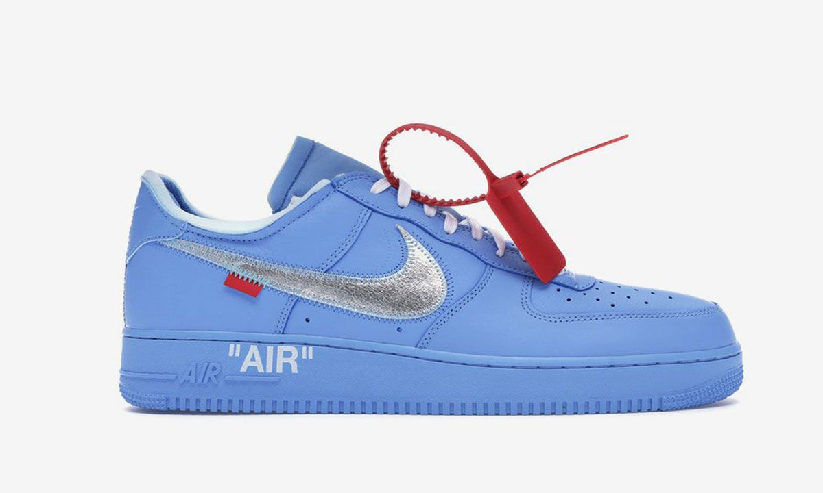 "Isaac algas marinas Delincuente  The Off-White x Nike Air Force 1 ""MCA"" is Available Online"