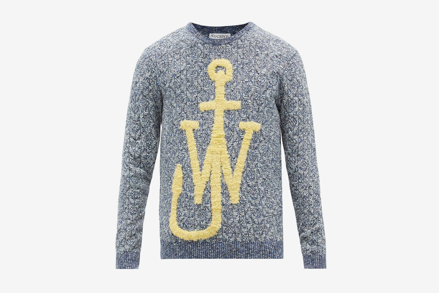 Anchor-Bouclé Sweater
