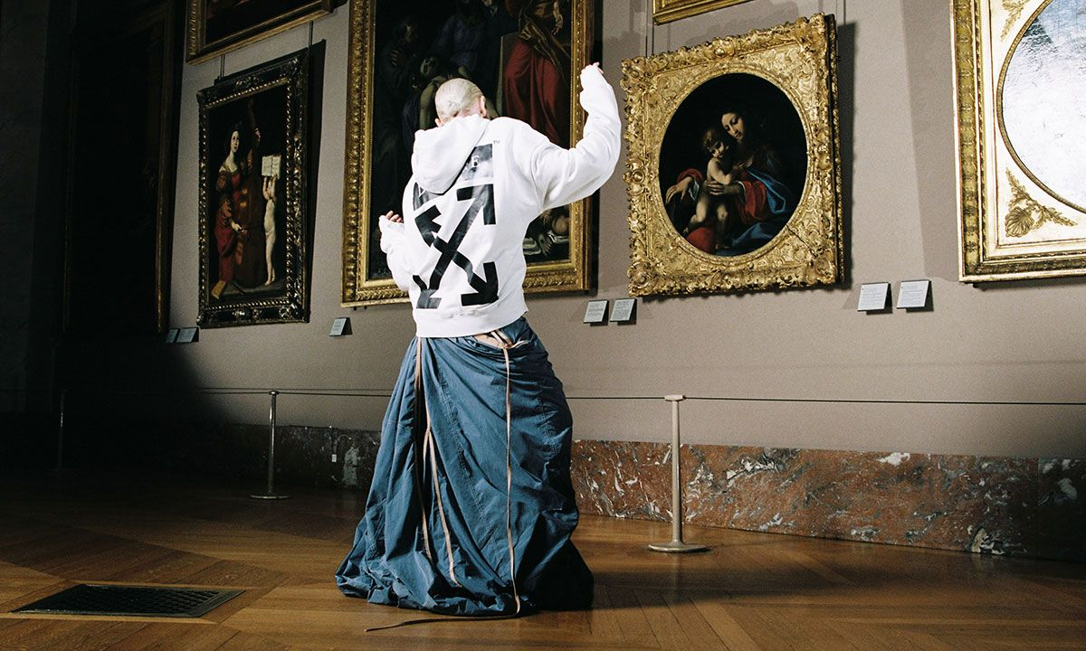 The Louvre Taps Off-White™ c/o Virgil Abloh for Leonardo Da Vinci Collection