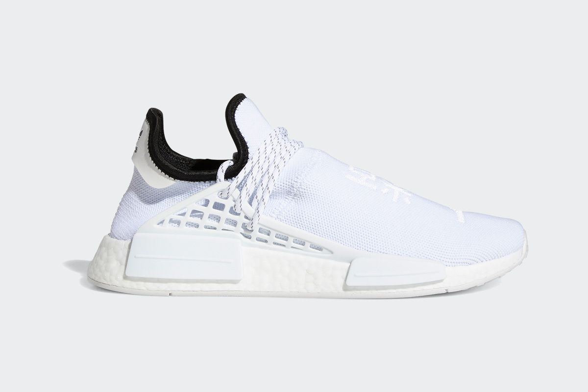 Pharrell's New Hu NMD Is Dropping in a Clean All-White Colorway 5