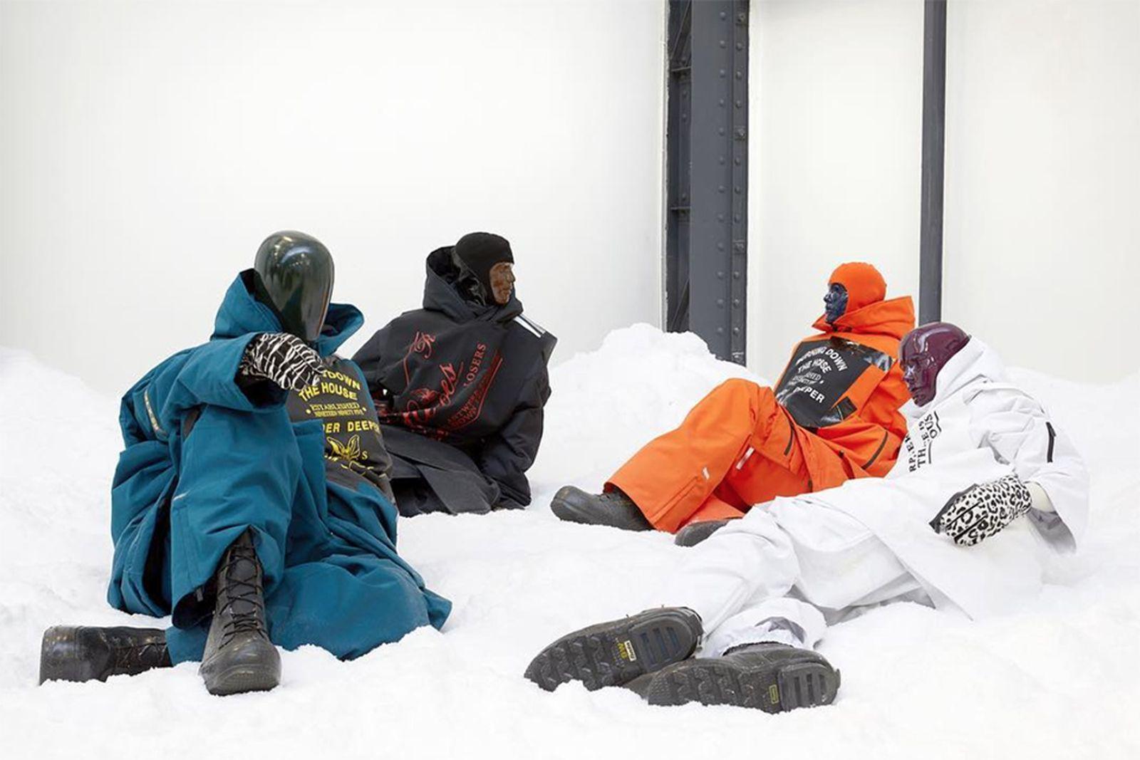raf simons templa winter 2019