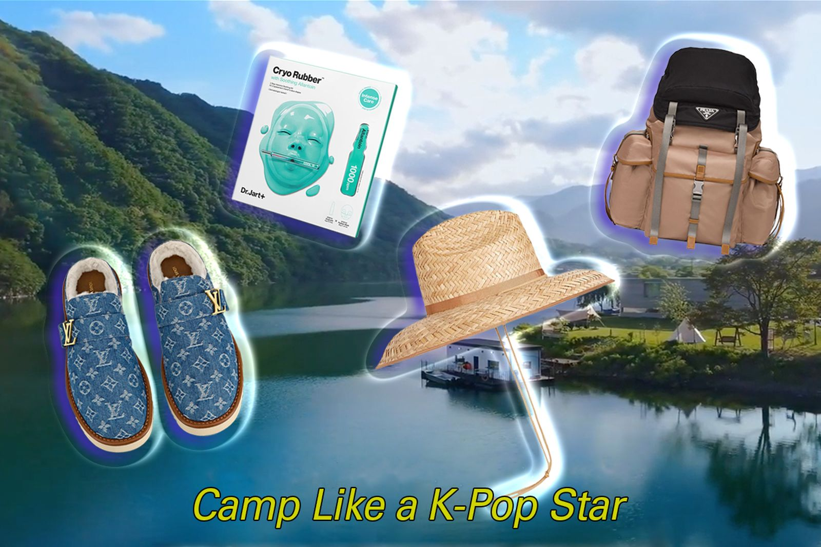 Go camping like BTS