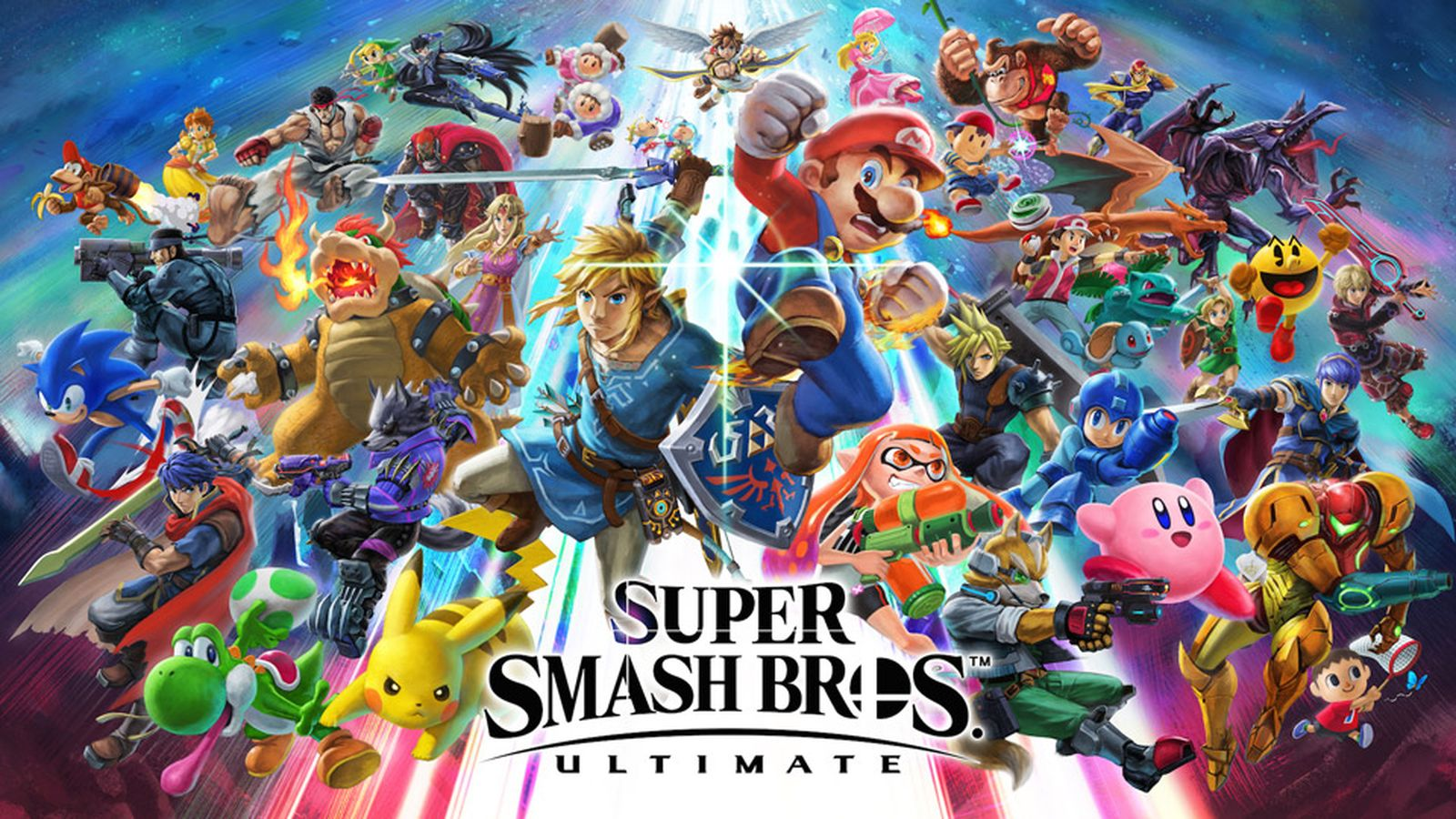 superSmashBrosUltimate illustration 00 E3 2018 Super Smash Bros. Ultimate nintendo switch