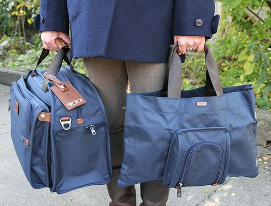Another Look Selectism By Tumi Alpha Four In One Duffle