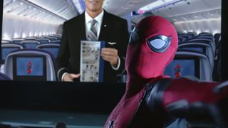 spider man far from home american airlines video Spider-Man: Far From Home United Airlines marvel