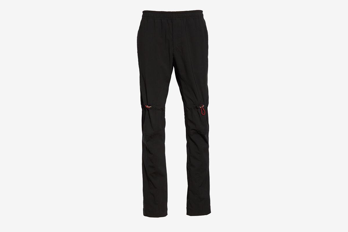 Wool Blend Flannel Pants