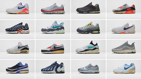 b72e70a3 Here Are Some of the Most Important and Obscure Nike Air Max Models