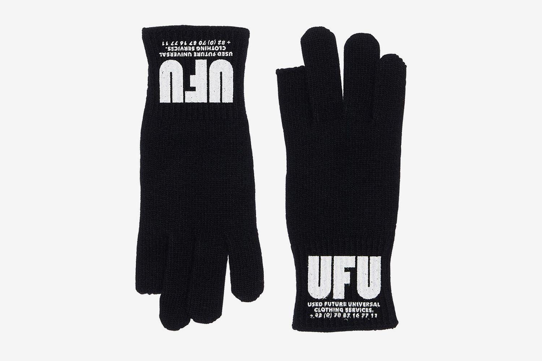 Tip Lambswool Blend Gloves