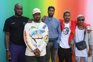 5baec669a16b Celebrities Who Attended Virgil Abloh s Debut Louis Vuitton Show