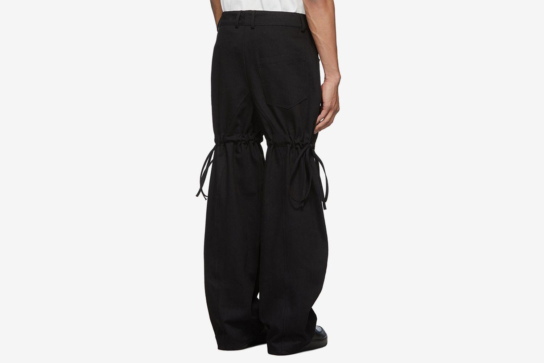 Logo Cargo Pants