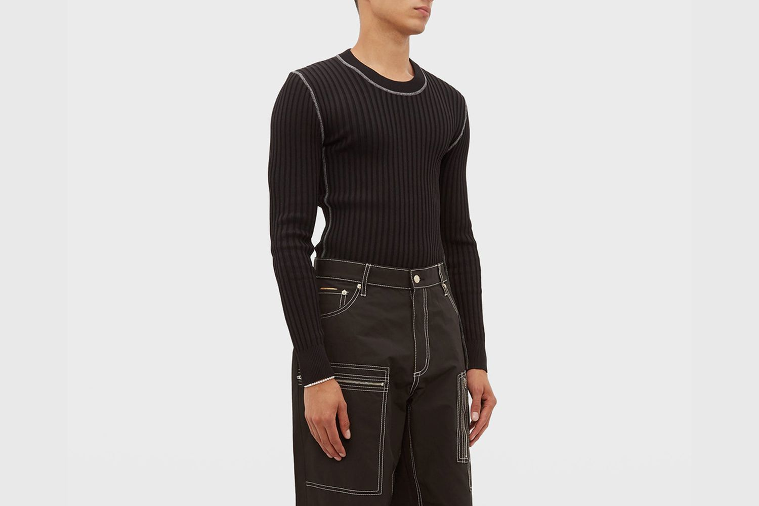 Incubus Wide Ribbed Sweater