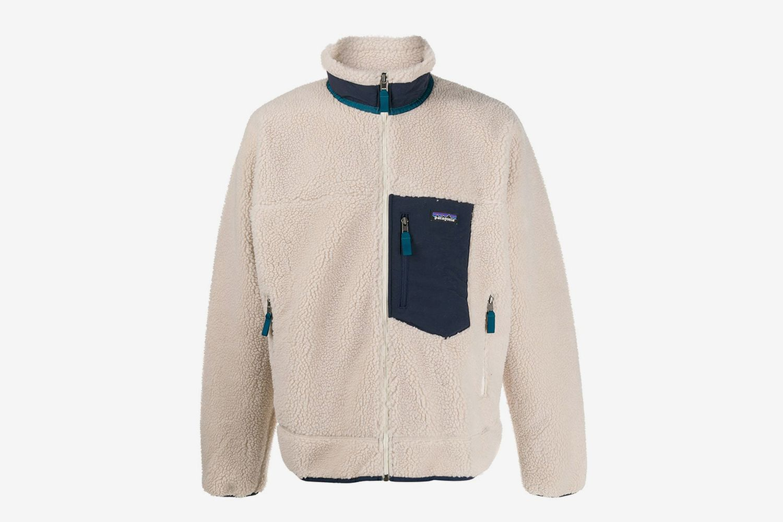 Zip-Up Shearling Jacket