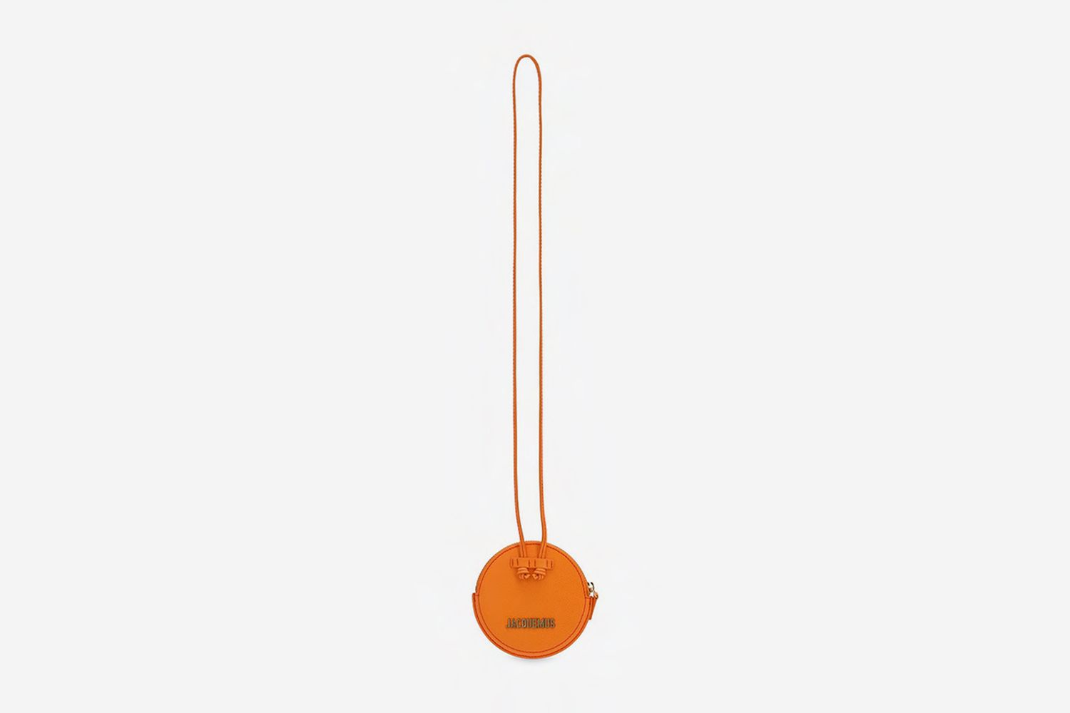 Le Pitchou Leather Coin Holder Necklace