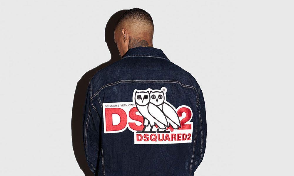 7e1496714 Flex Like Drake With New Dsquared2 x OVO Collab Capsule