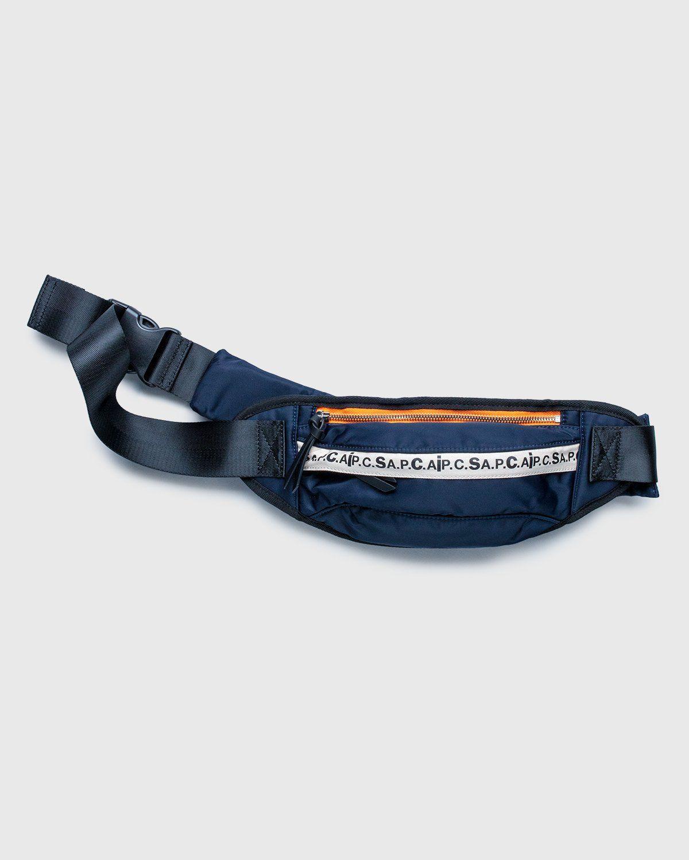 A.P.C. x Sacai — Banane Jackie Belt Bag Dark Navy - Image 1