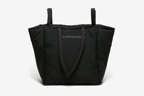 Padded Reverse-logo Tote Bag