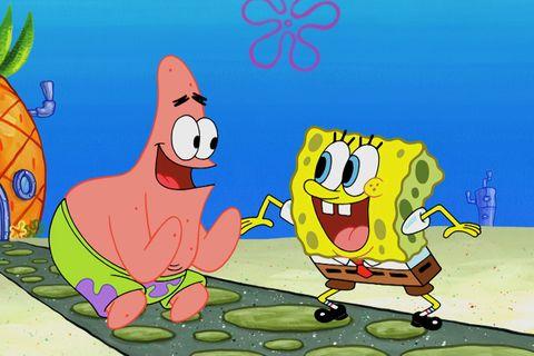 spongebob squarepants prequel series Kamp Koral nickelodeon