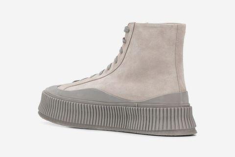 Platform Hi-Top Sneakers